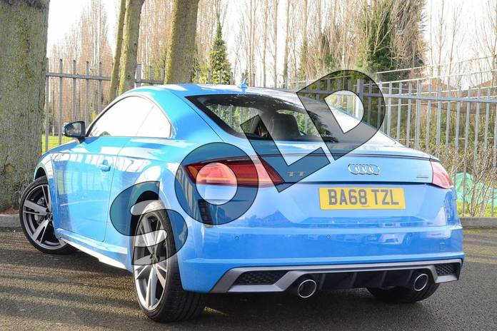 Image three of this 2019 Audi TT Coupe 45 TFSI Quattro S Line 2dr S Tronic in Turbo Blue at Coventry Audi