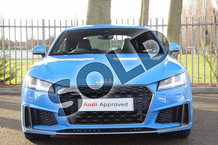 Image seven of this 2019 Audi TT Coupe 45 TFSI Quattro S Line 2dr S Tronic in Turbo Blue at Coventry Audi