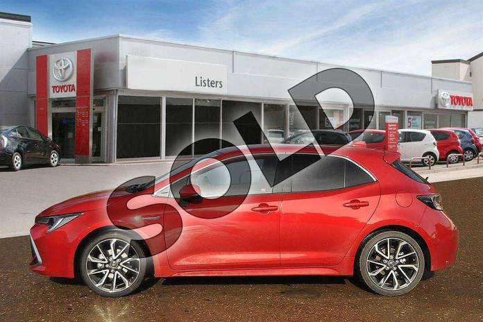 Image five of this 2019 Toyota Corolla Hatchback 1.8 VVT-i Hybrid Excel 5dr CVT in Scarlet Flare at Listers Toyota Boston