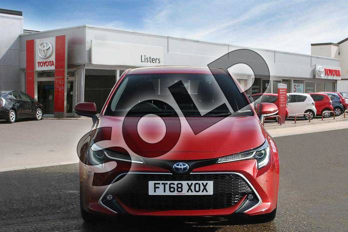 Image seven of this 2019 Toyota Corolla Hatchback 1.8 VVT-i Hybrid Excel 5dr CVT in Scarlet Flare at Listers Toyota Boston