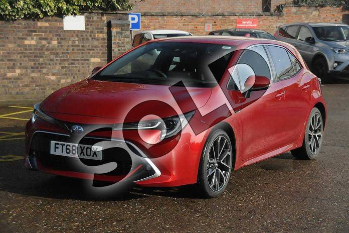Image eight of this 2019 Toyota Corolla Hatchback 1.8 VVT-i Hybrid Excel 5dr CVT in Scarlet Flare at Listers Toyota Boston