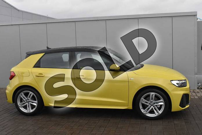 Image four of this 2019 Audi A1 Sportback 30 TFSI S Line 5dr in Python Yellow Metallic at Stratford Audi