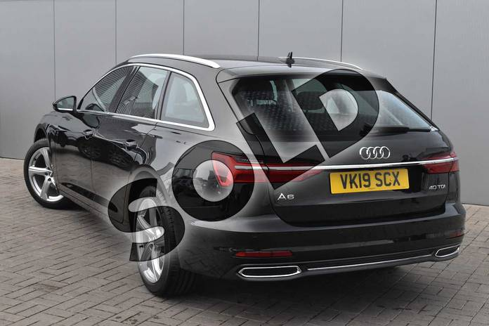 Image three of this 2019 Audi A6 Diesel Avant Diesel 40 TDI Sport 5dr S Tronic in Myth Black Metallic at Stratford Audi
