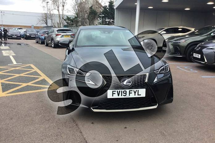 Image seven of this 2019 Lexus IS Saloon 300h F-Sport 4dr CVT Auto (Navigation) in Graphite Black at Lexus Lincoln