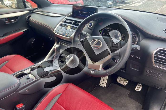 Image six of this 2019 Lexus NX Estate 300h 2.5 F-Sport 5dr CVT (Premium Pack/leather) in Graphite Black at Lexus Coventry