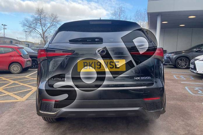 Image eleven of this 2019 Lexus NX Estate 300h 2.5 F-Sport 5dr CVT (Premium Pack/leather) in Graphite Black at Lexus Coventry