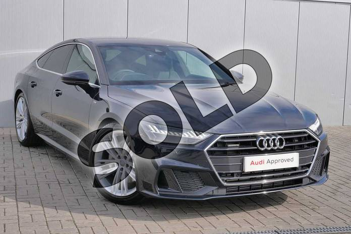 Picture of Audi A7 S line 50 TDI quattro 286 PS tiptronic in Firmament Blue Metallic