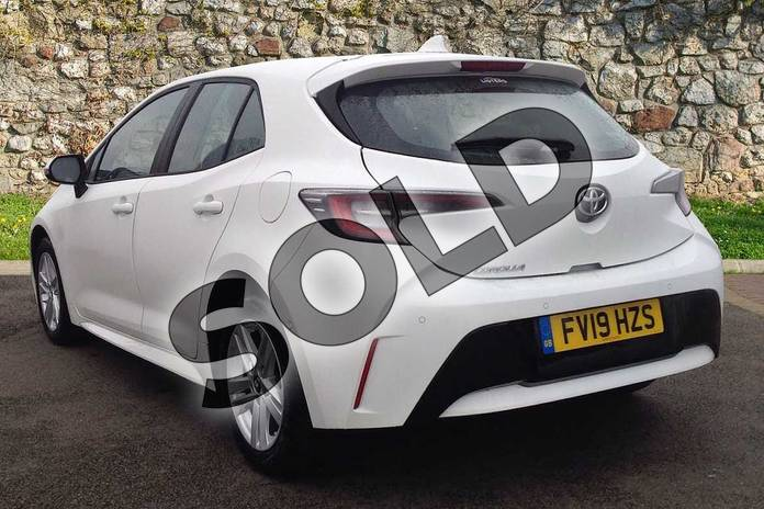 Image four of this 2019 Toyota Corolla Hatchback 1.2T VVT-i Icon Tech 5dr in White at Listers Toyota Lincoln