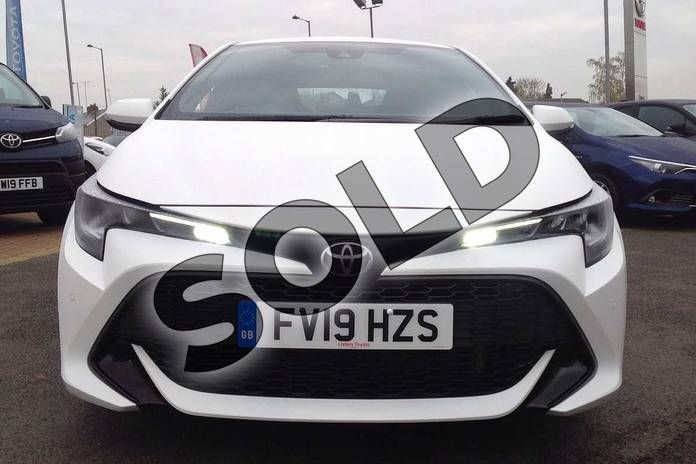 Image fifteen of this 2019 Toyota Corolla Hatchback 1.2T VVT-i Icon Tech 5dr in White at Listers Toyota Lincoln