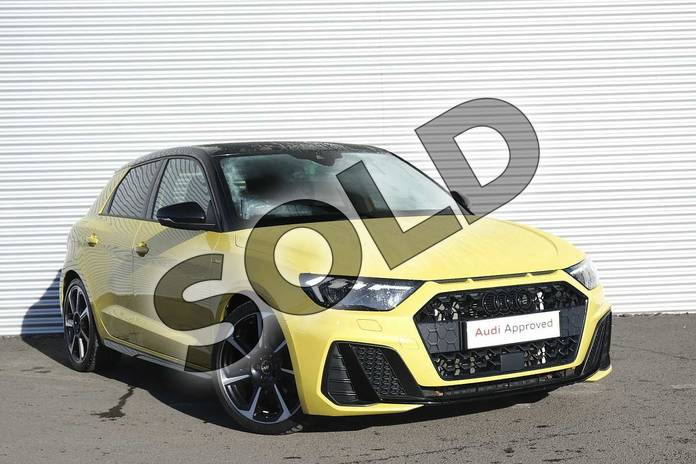 Audi A1 Sportback Special Editions Special Editions 35 TFSI S Line Contrast Edition 5dr