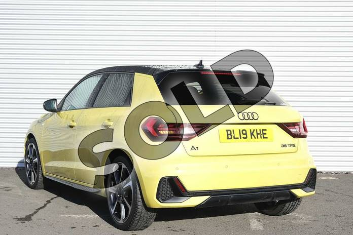 Image three of this 2019 Audi A1 Sportback Special Editions Special Editions 35 TFSI S Line Contrast Edition 5dr in Python Yellow Metallic at Coventry Audi