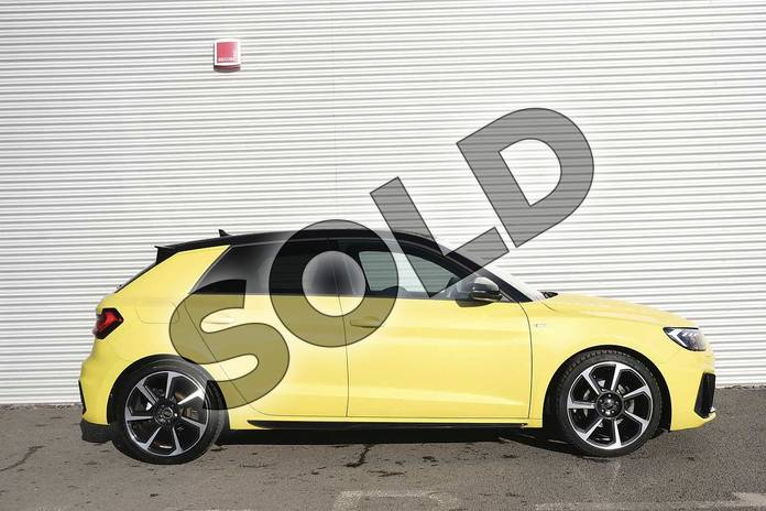 Image four of this 2019 Audi A1 Sportback Special Editions Special Editions 35 TFSI S Line Contrast Edition 5dr in Python Yellow Metallic at Coventry Audi