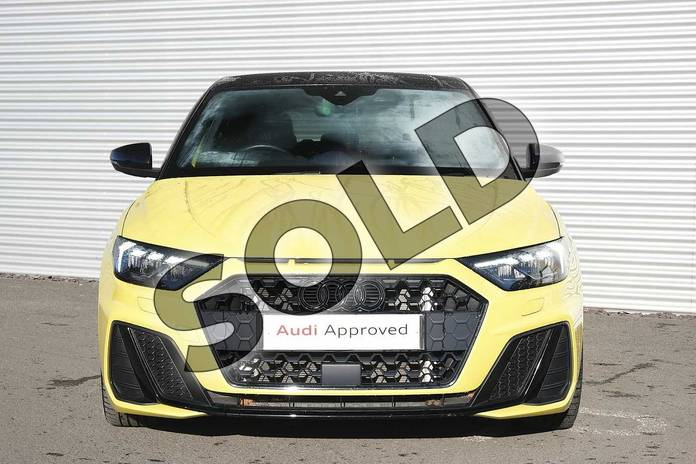 Image seven of this 2019 Audi A1 Sportback Special Editions Special Editions 35 TFSI S Line Contrast Edition 5dr in Python Yellow Metallic at Coventry Audi