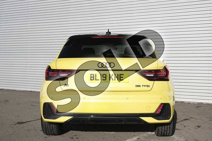 Image nine of this 2019 Audi A1 Sportback Special Editions Special Editions 35 TFSI S Line Contrast Edition 5dr in Python Yellow Metallic at Coventry Audi