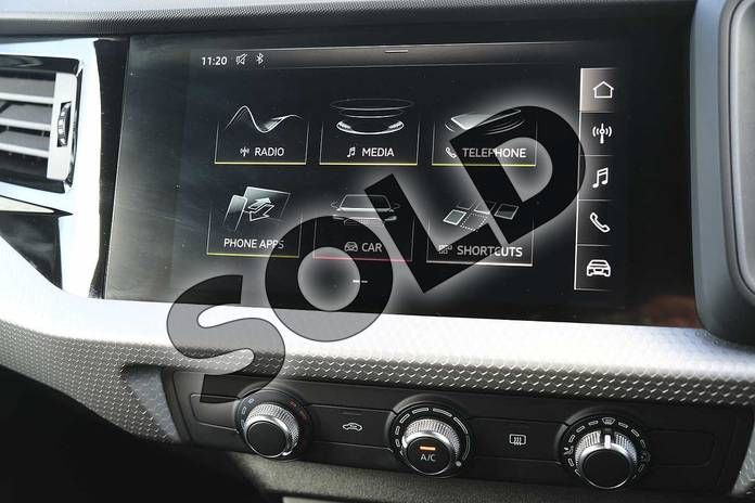 Image twelve of this 2019 Audi A1 Sportback Special Editions Special Editions 35 TFSI S Line Contrast Edition 5dr in Python Yellow Metallic at Coventry Audi