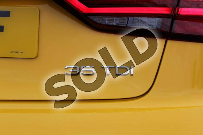 Image seven of this 2019 Audi A3 Diesel Saloon Diesel 35 TDI Black Edition 4dr S Tronic in Vegas Yellow at Coventry Audi