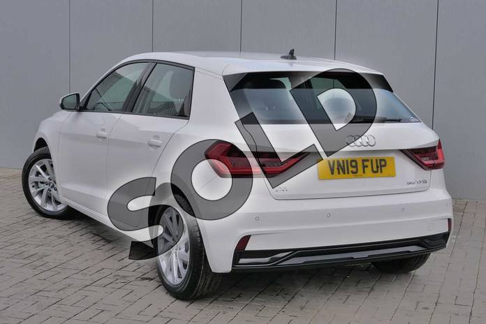 Image three of this 2019 Audi A1 Sportback 35 TFSI Sport 5dr S Tronic in Shell White at Stratford Audi