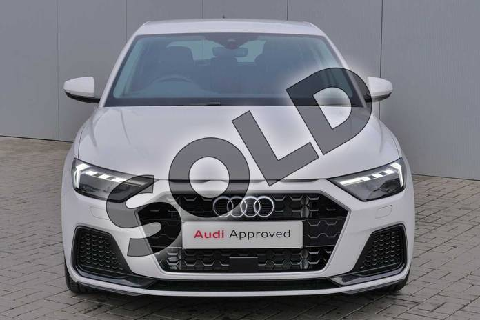 Image seven of this 2019 Audi A1 Sportback 35 TFSI Sport 5dr S Tronic in Shell White at Stratford Audi