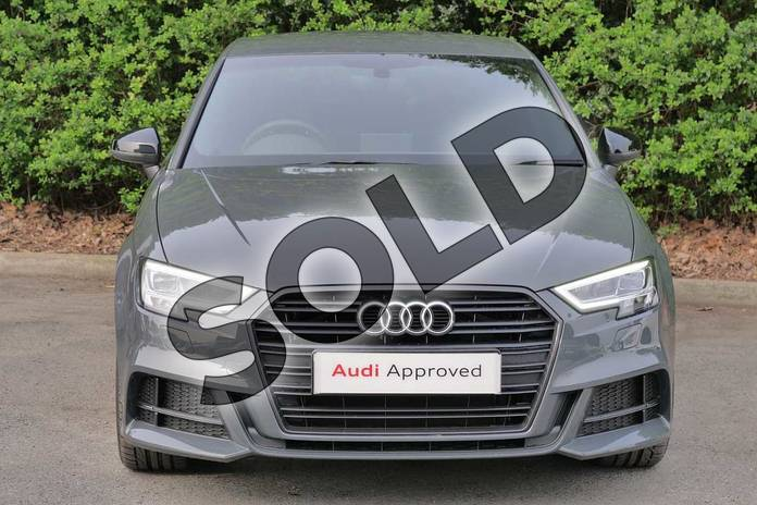 Image seven of this 2019 Audi A3 Diesel Sportback Diesel 35 TDI Black Edition 5dr S Tronic in Nano Grey Metallic at Worcester Audi
