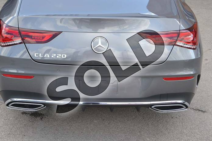Image thirty-four of this 2019 Mercedes-Benz CLA Class Coupe CLA 220 AMG Line 4dr Tip Auto in mountain grey metallic at Mercedes-Benz of Hull