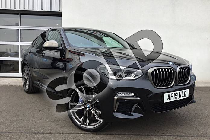 Picture of BMW X4 xDrive M40i 5dr Step Auto in Black Sapphire metallic paint
