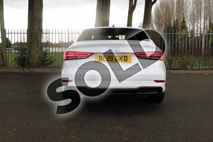 Image twelve of this 2019 Audi A3 Diesel Saloon Diesel 30 TDI 116 Black Edition 4dr in Ibis White at Coventry Audi
