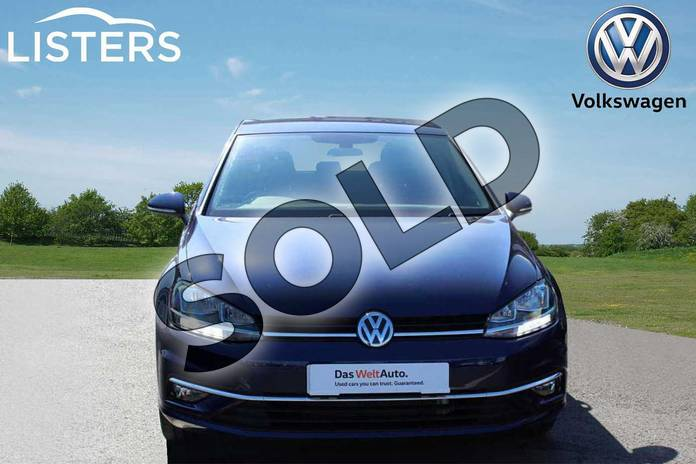 Image seven of this 2019 Volkswagen Golf Hatchback 1.0 TSI 115 Match 5dr DSG in Atlantic Blue at Listers Volkswagen Nuneaton