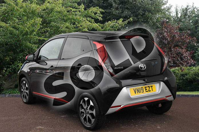 Image three of this 2019 Toyota Aygo Hatchback 1.0 VVT-i X-Trend 5dr in Black at Listers Toyota Stratford-upon-Avon