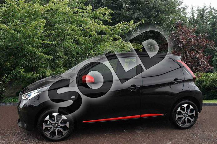 Image five of this 2019 Toyota Aygo Hatchback 1.0 VVT-i X-Trend 5dr in Black at Listers Toyota Stratford-upon-Avon