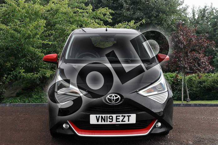 Image seven of this 2019 Toyota Aygo Hatchback 1.0 VVT-i X-Trend 5dr in Black at Listers Toyota Stratford-upon-Avon