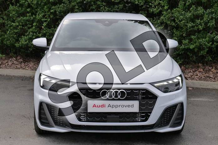 Image seven of this 2019 Audi A1 Sportback 35 TFSI S Line 5dr S Tronic in Glacier White Metallic at Worcester Audi