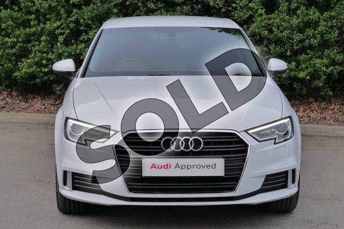 Image seven of this 2019 Audi A3 Sportback 35 TFSI Sport 5dr in Glacier White Metallic at Worcester Audi
