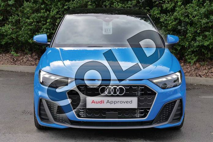 Image seven of this 2019 Audi A1 Sportback 35 TFSI S Line 5dr in Turbo Blue at Worcester Audi