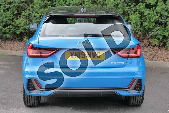 Image nine of this 2019 Audi A1 Sportback 35 TFSI S Line 5dr in Turbo Blue at Worcester Audi