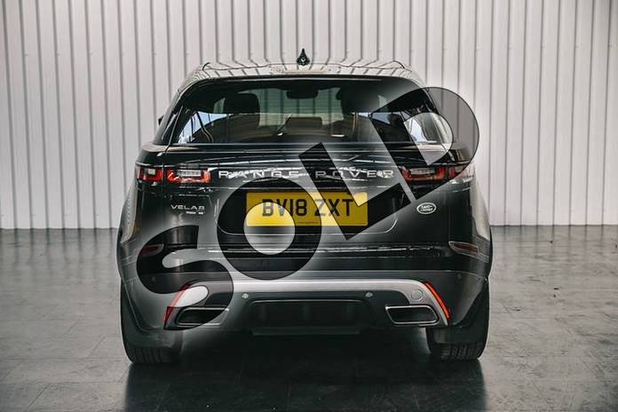 Image six of this 2018 Range Rover Velar Estate 2.0 P300 R-Dynamic SE 5dr Auto in Santorini Black at Listers Land Rover Solihull
