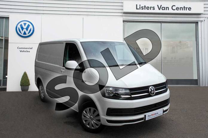 Image three of this 2019 Volkswagen Transporter T30 SWB Diesel T30 SWB Diesel 2.0 TDI BMT 102 Trendline Van Euro 6 in White  at Listers Volkswagen Van Centre Coventry