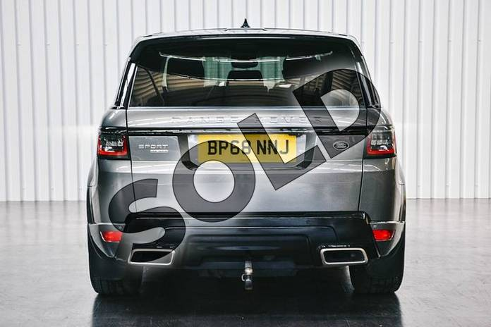 Image six of this 2019 Range Rover Sport Diesel Estate Diesel 3.0 SDV6 HSE Dynamic 5dr Auto in Corris Grey at Listers Land Rover Solihull