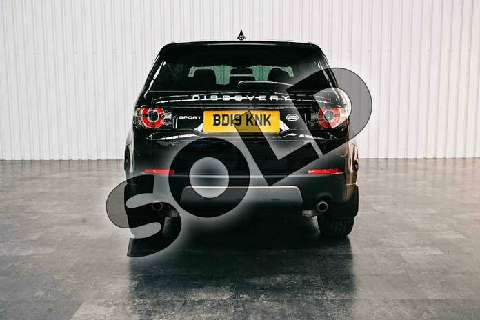 Image six of this 2019 Land Rover Discovery Sport Diesel SW Diesel SW 2.0 TD4 180 SE Tech 5dr Auto in Santorini Black at Listers Land Rover Solihull