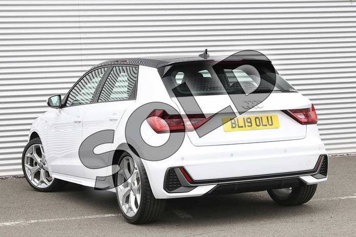 Image three of this 2019 Audi A1 Sportback 35 TFSI S Line 5dr S Tronic in Glacier White Metallic at Birmingham Audi