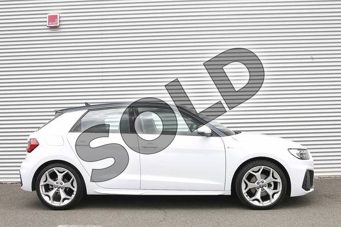 Image four of this 2019 Audi A1 Sportback 35 TFSI S Line 5dr S Tronic in Glacier White Metallic at Birmingham Audi