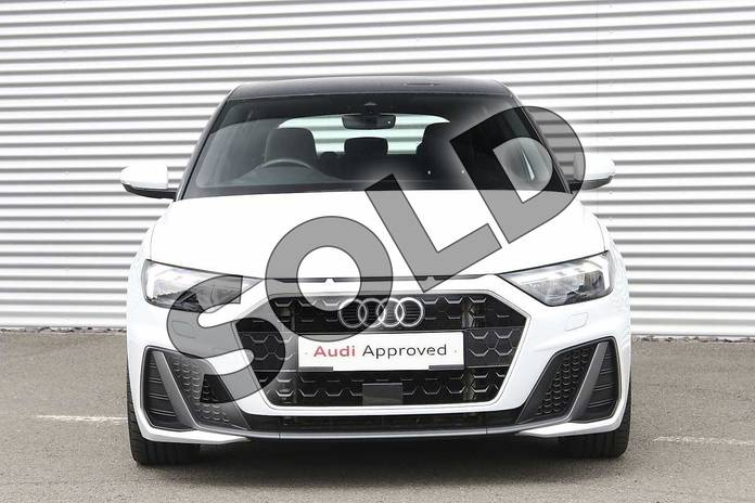 Image seven of this 2019 Audi A1 Sportback 35 TFSI S Line 5dr S Tronic in Glacier White Metallic at Birmingham Audi
