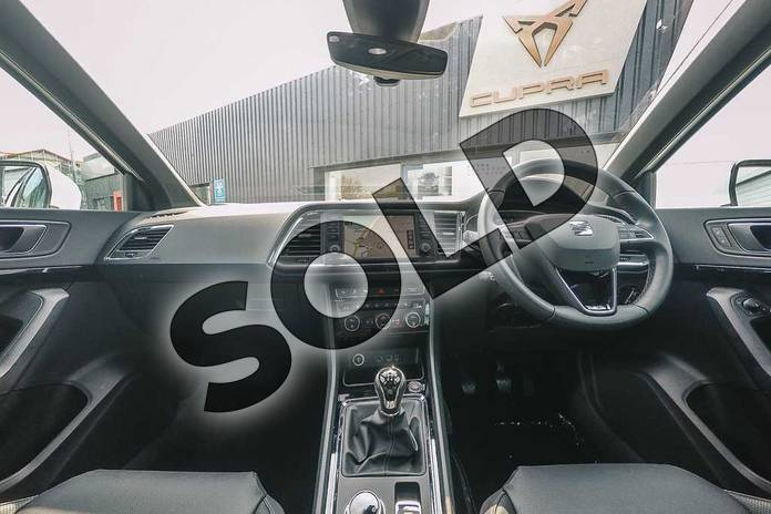 Image two of this 2019 SEAT Ateca Estate 1.5 TSI EVO Xcellence Lux (EZ) 5dr in White at Listers SEAT Coventry