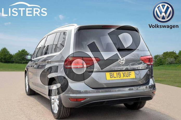Image three of this 2019 Volkswagen Touran Estate 1.5 TSI EVO SEL 5dr DSG in Indium Grey at Listers Volkswagen Leamington Spa