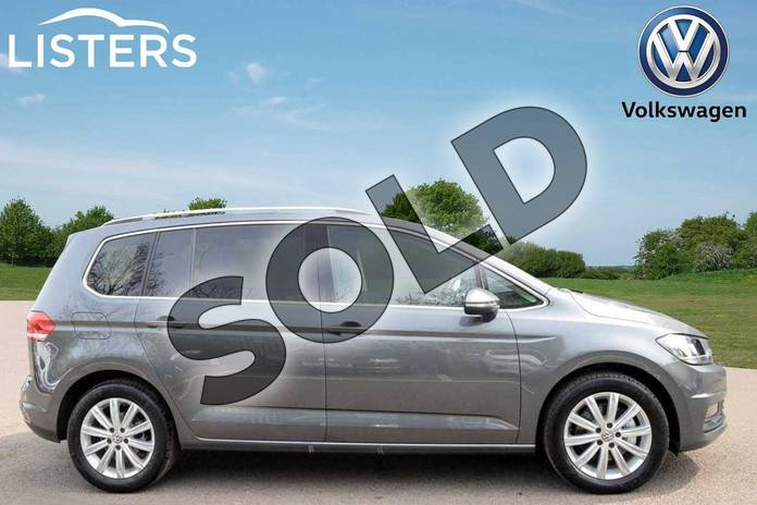 Image four of this 2019 Volkswagen Touran Estate 1.5 TSI EVO SEL 5dr DSG in Indium Grey at Listers Volkswagen Leamington Spa