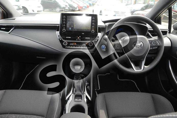 Image five of this 2019 Toyota Corolla Hatchback 1.8 VVT-i Hybrid Icon Tech 5dr CVT in Eclipse Black at Listers Toyota Coventry