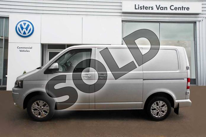 Image four of this 2015 Volkswagen Transporter T30 SWB Diesel T30 SWB Diesel 2.0 TDI BMT 140 Highline Van in Silver Metallic at Listers Volkswagen Van Centre Coventry