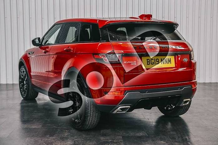 Image two of this 2019 Range Rover Evoque Diesel Hatchback Diesel 2.0 TD4 HSE Dynamic Lux 5dr Auto in Firenze Red at Listers Land Rover Solihull