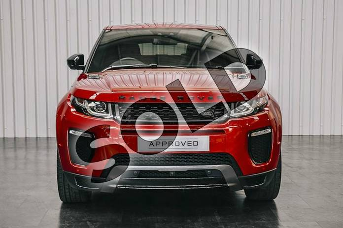 Image seven of this 2019 Range Rover Evoque Diesel Hatchback Diesel 2.0 TD4 HSE Dynamic Lux 5dr Auto in Firenze Red at Listers Land Rover Solihull