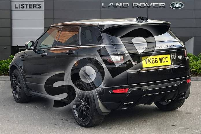Image two of this 2018 Range Rover Evoque Diesel Hatchback Diesel 2.0 TD4 HSE Dynamic 5dr Auto in Santorini Black at Listers Land Rover Droitwich