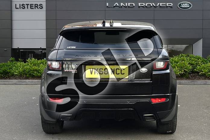 Image six of this 2018 Range Rover Evoque Diesel Hatchback Diesel 2.0 TD4 HSE Dynamic 5dr Auto in Santorini Black at Listers Land Rover Droitwich